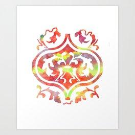 Elm Leaf Art Print