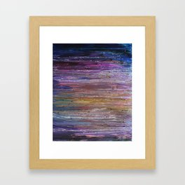 Underlying Layers Framed Art Print