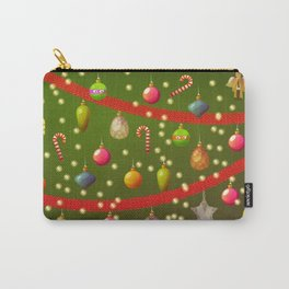 Look at these Christmas decorations! Carry-All Pouch