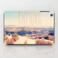 explore iPad Cases featuring Explore by Bunhugger Design