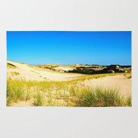dune Area & Throw Rugs featuring Dune by cirqueduchloe
