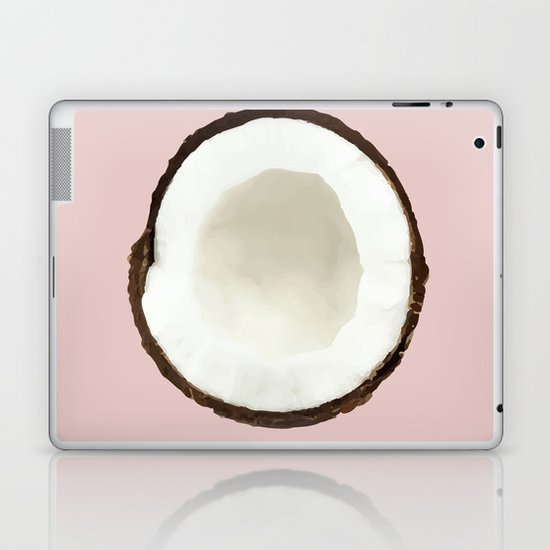 Pink coconut Laptop & iPad Skin
