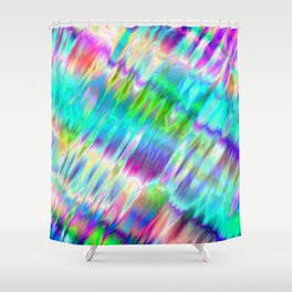 Silk III. Shower Curtain