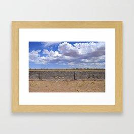 NM Sky Framed Art Print