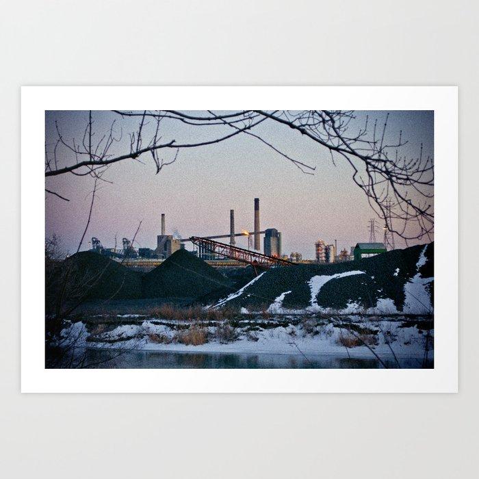 Zug Island Art Print