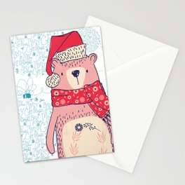 Winter Bear Stationery Cards