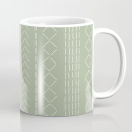 Stitchery - Moss green Coffee Mug