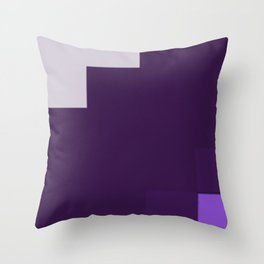 color purple 2 Throw Pillow