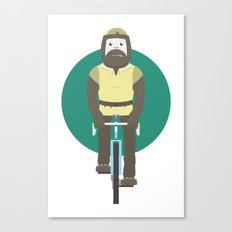 Cyclesquatch Canvas Print