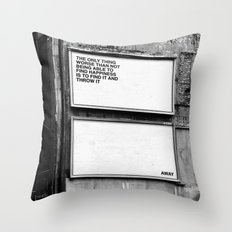 Billboard Fantasies #1 Throw Pillow