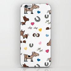 Clip Clop iPhone & iPod Skin