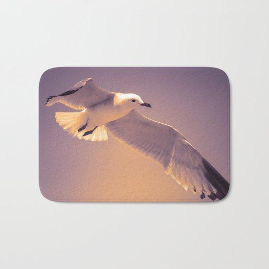 Summer Bird Bath Mat