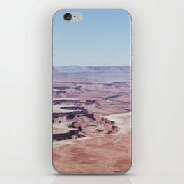 Hazy Desert Canyon Landscape iPhone Skin