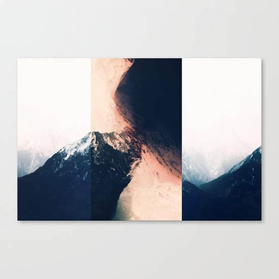 Pacify Her Canvas Print