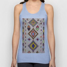 N15 - Oriental Traditional Bohemian Moroccan Artwork. Unisex Tank Top