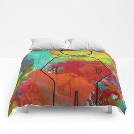 woke to this Comforters