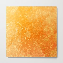 ORANGE--ART Metal Print