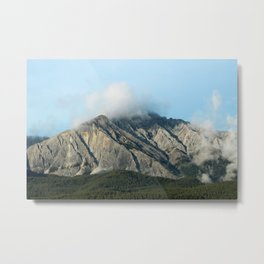 Miniature Mountains Metal Print