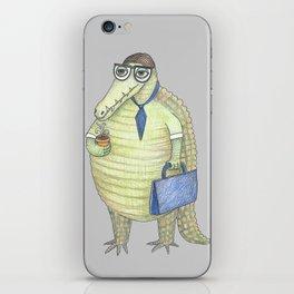 Émile, le Crocodile iPhone Skin