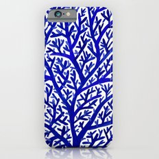 Fan Coral – Navy Slim Case iPhone 6s