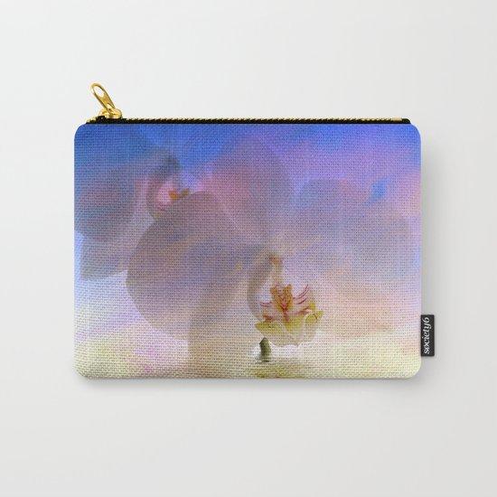 Orchid in a bath 1 - Flower and Flowers on #Society6 Carry-All Pouch