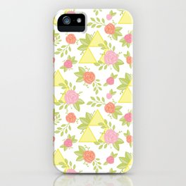 Garden of Power, Wisdom, and Courage Pattern iPhone Case