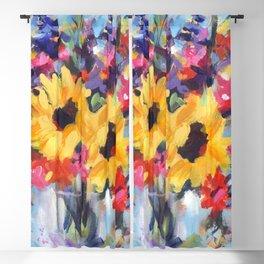Sensational Sunflower Bouquet Blackout Curtain