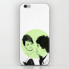 Pedro Almodovar and Penelope Cruz iPhone & iPod Skin