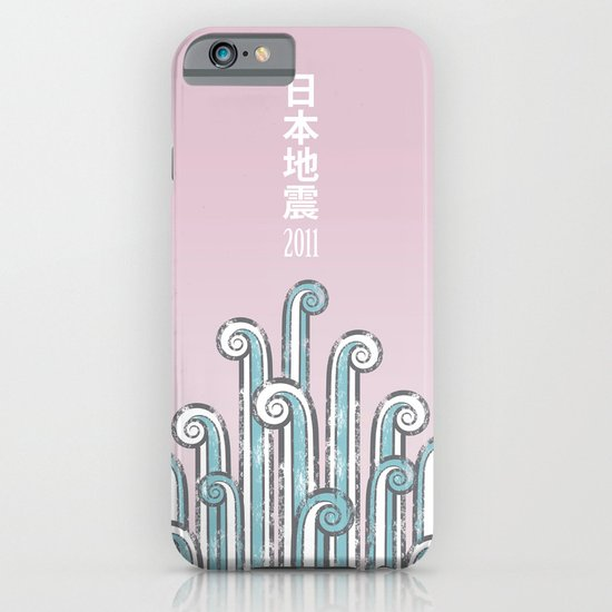 Japan Earthquake 2011 no.2 iPhone & iPod Case