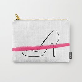 Pink Shoe 2 Carry-All Pouch