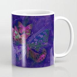 Marble Butterflies Coffee Mug