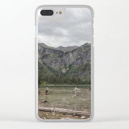 Avalanche Lake No. 1 - Glacier NP Clear iPhone Case