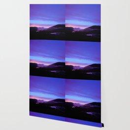 Valley Sunset Wallpaper