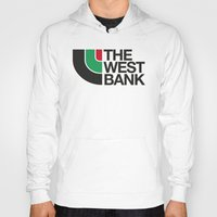 palestine Hoodies featuring The West Bank by Yusef Mubeen