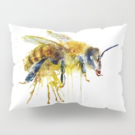Watercolor Bee Pillow Sham