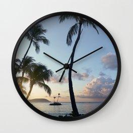 Kahala Sunrise 2. Wall Clock