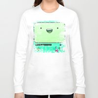 bmo Long Sleeve T-shirts featuring BMO by Some_Designs