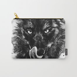 Spirit animal Wolf Carry-All Pouch