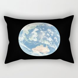 Blue Earth Rectangular Pillow