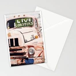 Live Lobsters Stationery Cards