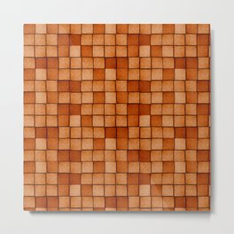 Wood Blocks-Maple Metal Print
