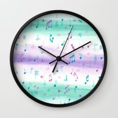 #102. JENNI (Musical Notes) Wall Clock