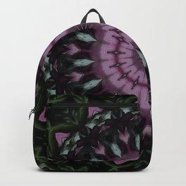 Rose And Jade Geometric Fantasy Mandala Pattern Backpack