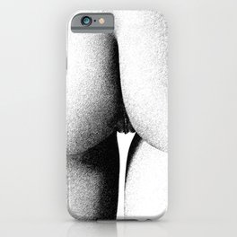 Abstract woman ink work iPhone Case