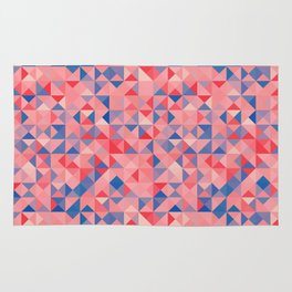 colorful Triangles 1 Rug