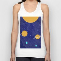 solar system Tank Tops featuring Solar System by Quinn Shipton