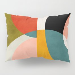 geometry shapes 3 Pillow Sham