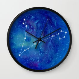 Constellation Pisces Wall Clock