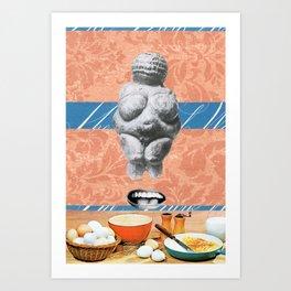 Milk & Eggs Art Print
