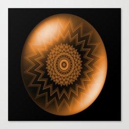 Sacral Orange   Chakra Canvas Print